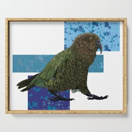 NZ Native Birb Collection - Kea Serving Tray