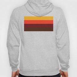 retro color palette Hoody