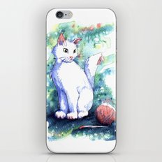 Playing Kitty iPhone & iPod Skin