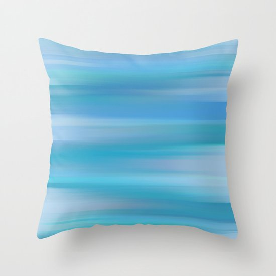 Whispered Sea Throw Pillow