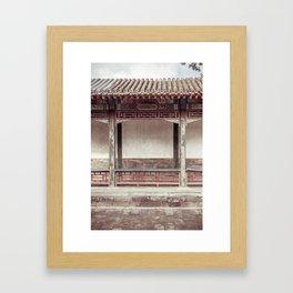 Mysterious East Framed Art Print
