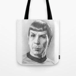 Spock - Fascinating (Star Trek TOS) Tote Bag
