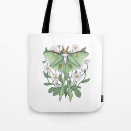 Metamorphosis - Luna Moth Tote Bag