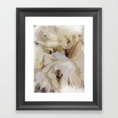 Midsummer night-blooms Framed Art Print