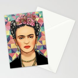 Frida Pattern Stationery Cards