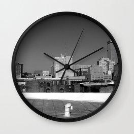 Omaha Skyline Wall Clock