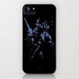 Blue GDM iPhone Case