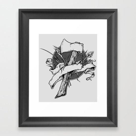 Hatchet  Framed Art Print