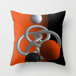 escaped -3of3- Throw Pillow