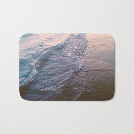 Sunset waves Bath Mat