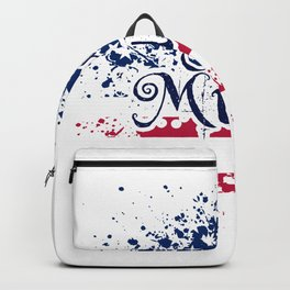 Fan Country Music American Flag Backpack