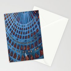Alien Tower Stationery Cards