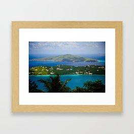 Virgin Islands Framed Art Print