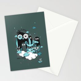 Nocturnal Friends Stationery Cards