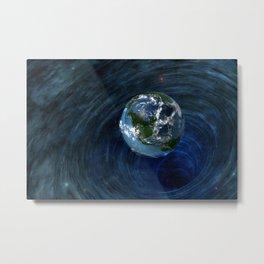 Earth Is In Trouble Metal Print
