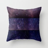 celestial Throw Pillows featuring Celestial by E.M. Shafer