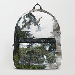 Woburn Lion - Acrylic Palette Knife Backpack