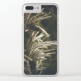 October plumage Clear iPhone Case