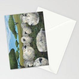 greener pasture Stationery Cards