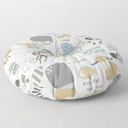 Animal Alphabet Floor Pillow
