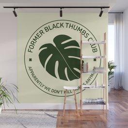 Former Black Thumbs Club Wall Mural