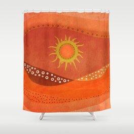Color/Landscape 7 Shower Curtain