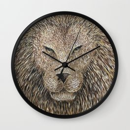 Lion Painting Wall Clock
