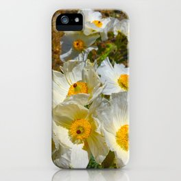 Mexican Poppies iPhone Case