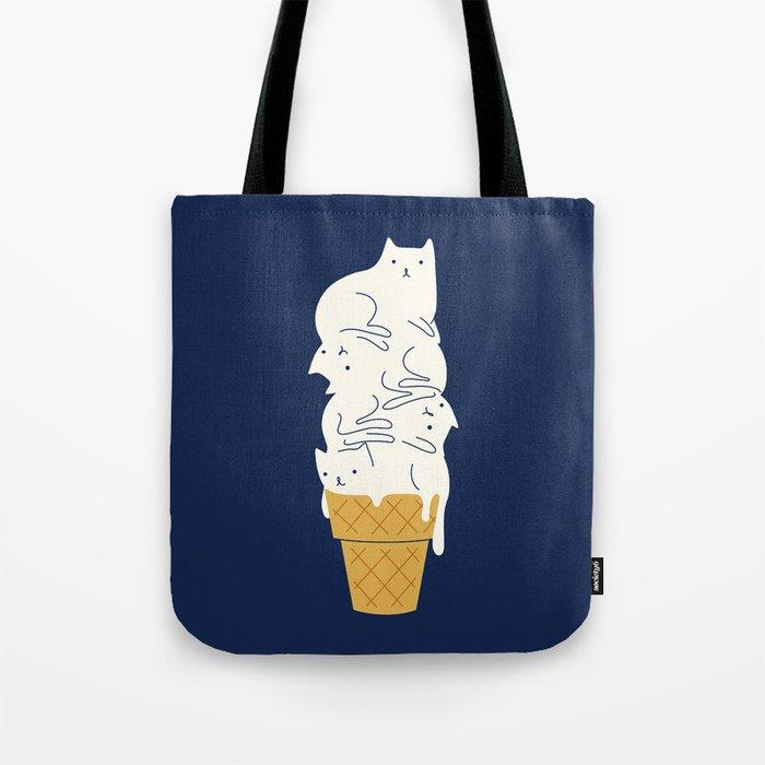 Meowlting Tote Bag