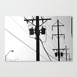 Wired II Canvas Print