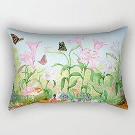 Fairy Garden#1 Rectangular Pillow