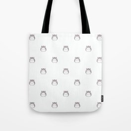 Cute Hamster Pattern Illustration Tote Bag