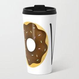 I Love Donuts Travel Mug