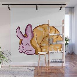 Rabbit snail Wall Mural