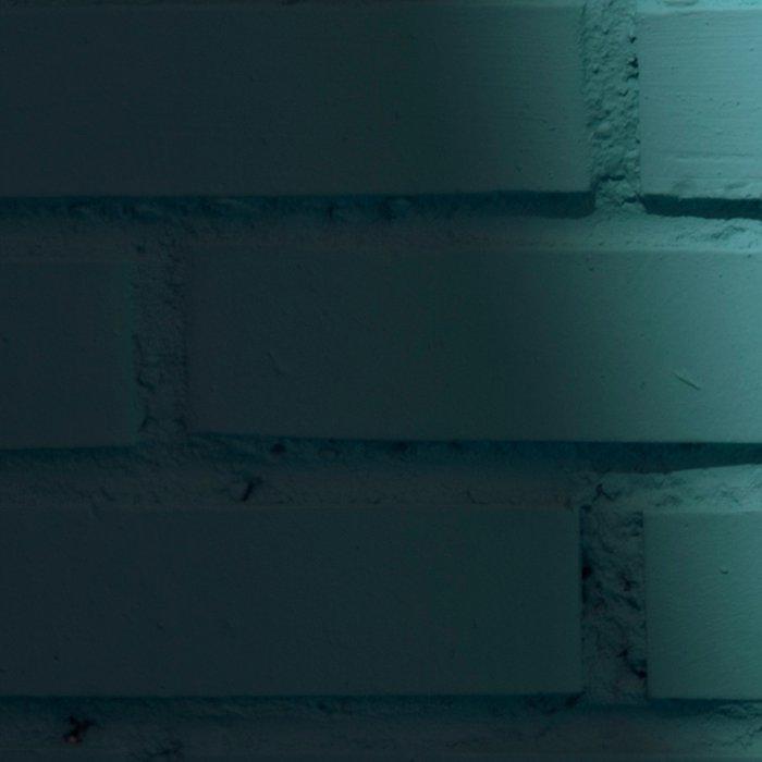 Blue and shady cube Leggings