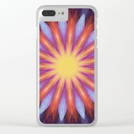 Flowernova Clear iPhone Case