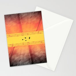 The Closing Apartheid wall in Palestine Stationery Cards