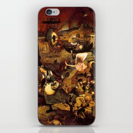 Mad Meg by Heironymus Bosch iPhone Skin