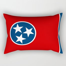 State flag of Tennessee - Authentic version Rectangular Pillow