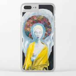 Saint #1 Clear iPhone Case