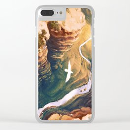Topaz Canyon Clear iPhone Case