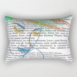 Rainbow Hair Rectangular Pillow