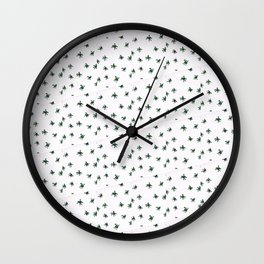 Lots of spiders pattern Wall Clock