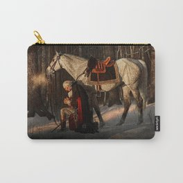 George Washington A Prayer at Valley Forge Carry-All Pouch