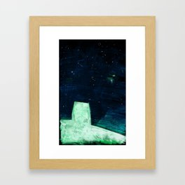 Night Stars Framed Art Print