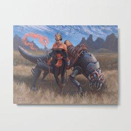 Magus Dragoon Metal Print