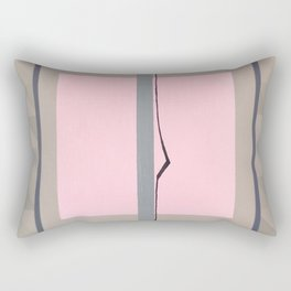 In the Pink - geometric graphic Rectangular Pillow