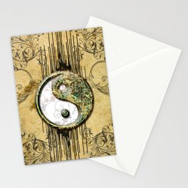 Ying and yang  Stationery Cards