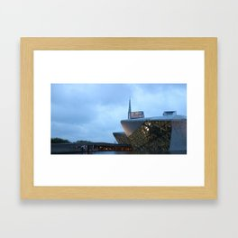 Zaha H A D I D | architect | Guangzhou Opera House Framed Art Print