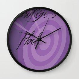 Hawkeye's Flawk Wall Clock